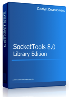 Click to view SocketTools Library Edition screenshots